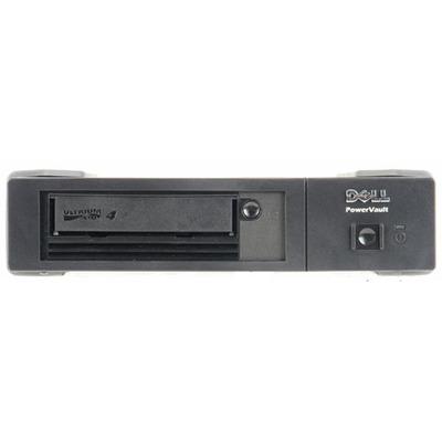 DELL LTO4-HH SAS, 800 GB/ 1.6 TB, 120 MBps tape drive - Zwart