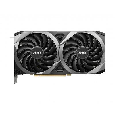 MSI GeForce RTX 3070 VENTUS 2X OC Videokaart - Zwart, Zilver