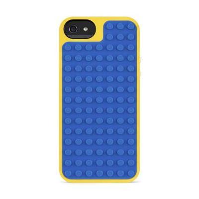 Belkin etui voor mobiele apparatuur: iPhone 5 Lego 3D hoesje - Blauw met geel en rood