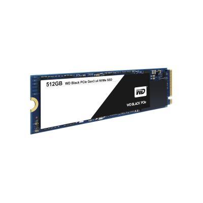 Western digital SSD: Black SSD PCIe 512GB