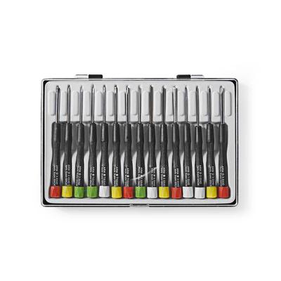 Nedis Precision Screwdriver Set, 4x Flat, 3x PH, 4x Tx, 4x Hex Handschroevedraaier & set