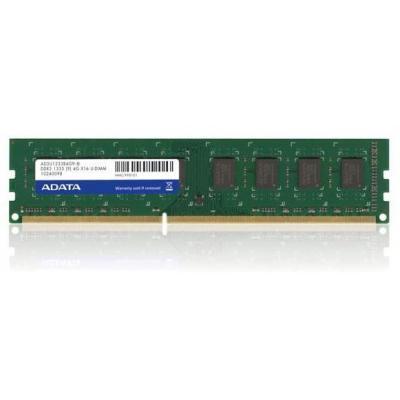 Adata RAM-geheugen: 4GB DDR3 PC1333 U-DIMM