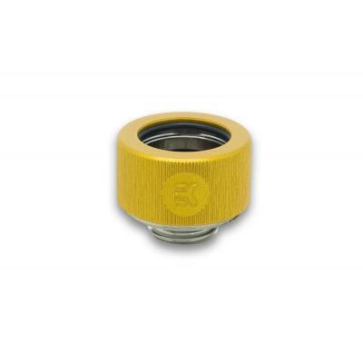 EK Water Blocks EK-HDC Fitting 16mm G1/4 - Gold Cooling accessoire - Goud, Zilver