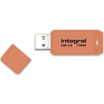 Integral NEON 3.0 USB flash drive - Oranje