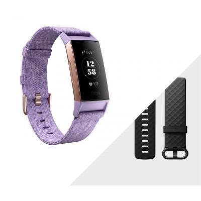 Fitbit Charge 3 Wearable - Lavendel, Roségoud
