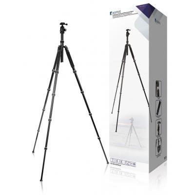 König tripod: Bevestig uw foto- of videocamera op het statief met panoramakop en maak haarscherpe en stabiele .....