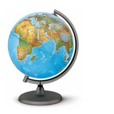 Rombouts globe: Wereldbol Orion Nederlandstalige tekst
