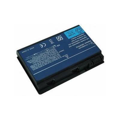 Acer batterij: BT.00603.043, Li-ion, 4400mAh, 6 Cell, 11.1 V - Zwart