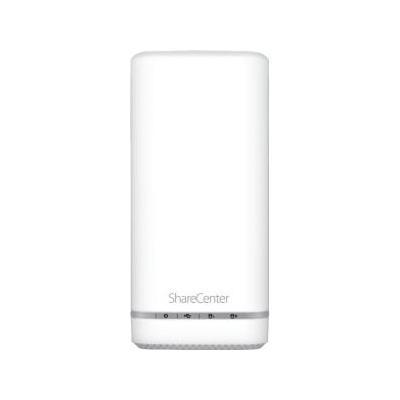 D-Link NAS: DNS-327L ShareCenter - 8TB, 2x SATA, 1x USB 3.0, 1x RJ-45, 640g, White - Wit