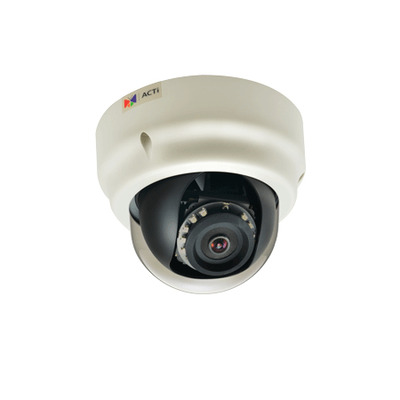 ACTi B53 Beveiligingscamera - Zwart, Wit