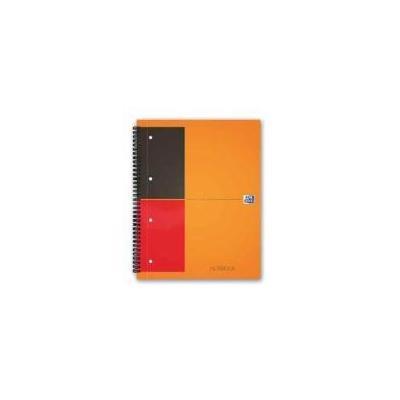 Elba schrijfblok: Oxford - Grijs, Oranje
