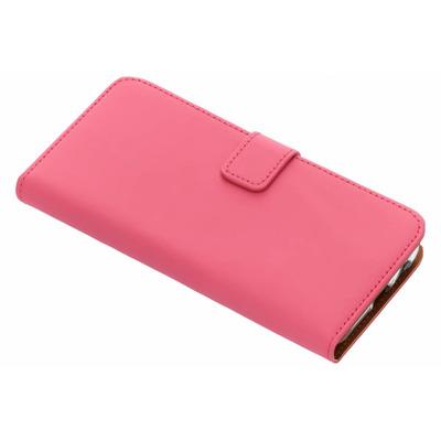 Luxe Softcase Booktype Samsung Galaxy J6 - Fuchsia Mobile phone case
