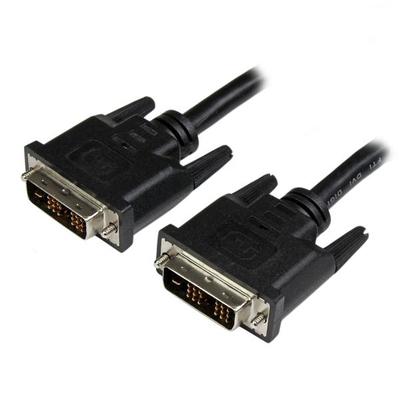 StarTech.com 45cm DVI-D Single Link kabel / monitor kabel M/M- 1920x1200 DVI kabel  - Zwart