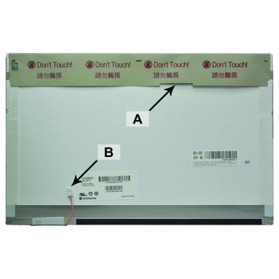 2-power notebook reserve-onderdeel: 15.4 WXGA 1280x800 CCFL1 Glossy Screen - replaces LP154W01-TLAE