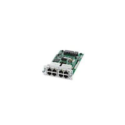 Cisco netwerk switch module: 8-port PoE/PoE+ Layer 2 Gigabit Ethernet LAN Switch NIM, Spare