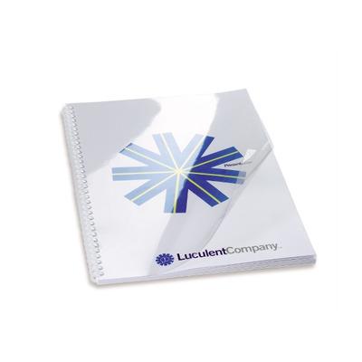 GBC A5, PVC, 240mic, 100st, transparant Binding cover