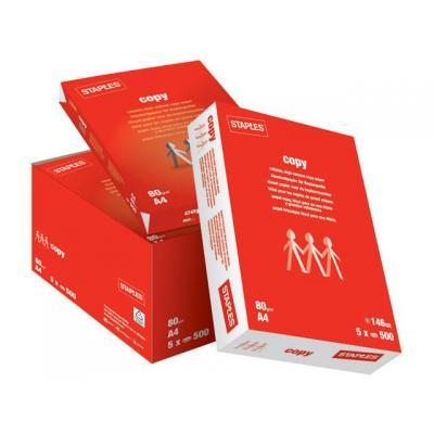 Staples papier: Papier SPLS A4 80g Copy/pl40x2500v