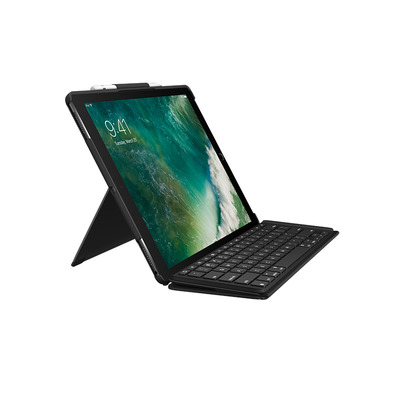 Logitech mobile device keyboard: SLIM COMBO - Zwart