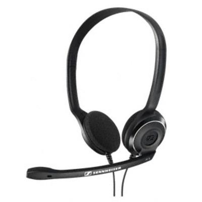 Sennheiser headset: PC 8 USB - Zwart