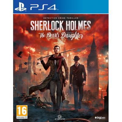 Bigben interactive game: Sherlock Holmes: The Devil's Daughter  PS4
