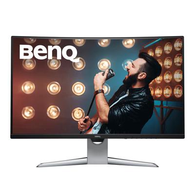 Benq EX3203R Monitor - Zwart, Zilver