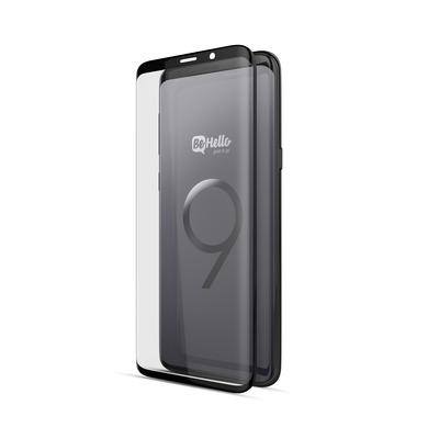 BeHello Screenprotector High Impact Glass voor Samsung Galaxy S9 Screen protector - Transparant