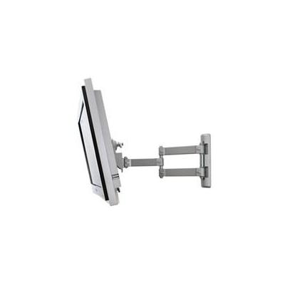 B-Tech LCD Articulating wall mount for large screen LCD monitors and TVs Montagehaak - Zilver