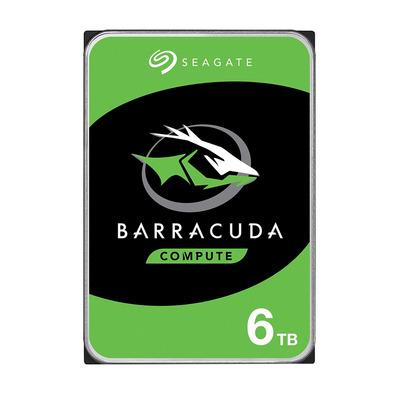 """Seagate BarraCuda 6TB 5400rpm 3,5"""" SATA Interne harde schijf"""