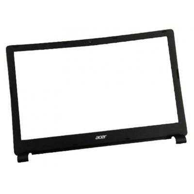 Acer notebook reserve-onderdeel: LCD Bezel, Black - Zwart