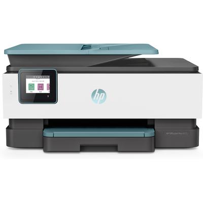 HP OfficeJet Pro 8025 Multifunctional - Zwart, Cyaan, Magenta, Geel