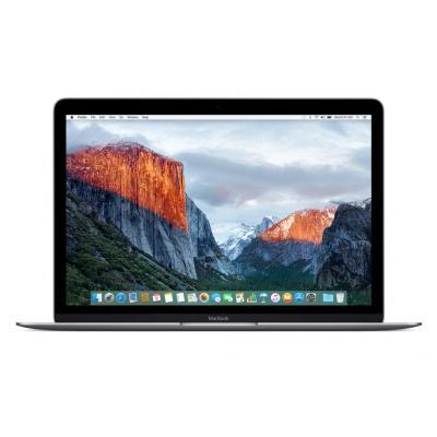 """Apple laptop: MacBook 12"""" Retina Space Gray 512GB - Grijs"""
