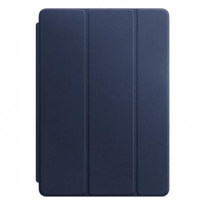 Apple tablet case: Leren Smart Cover voor 10.5'' iPad Pro - Midgnight Blue - Blauw