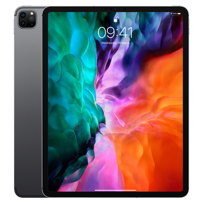 Apple iPad Pro 12.9-inch (2020) Wi-Fi + Cellular 256GB Space Grey Tablet - Grijs