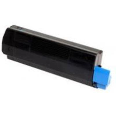 OKI cartridge: Toner Cyan 3000sh f C5250 5450 5500MFP - Cyaan