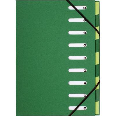 Exacompta organixer: Forever, A4, Gerecycleerd papier, Groen