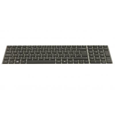 HP Keyboard with Toucad for use in the Czech Republic and Slovakia with Windows 8 notebook reserve-onderdeel - Zwart