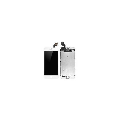 Microspareparts mobile mobile phone spare part: iPhone 6+ LCD Assembly White - Wit
