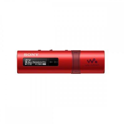 Sony MP3 speler: Walkman NWZ-B183F - Rood