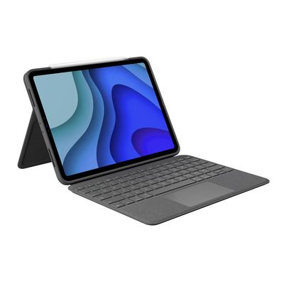 Logitech Folio Touch Mobile device keyboard - Grafiet