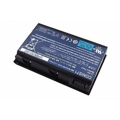 Acer batterij: Battery 6-Cell 4400mAh Li-Ion - Zwart