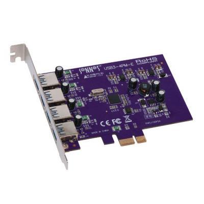 Sonnet interfaceadapter: PCI Express 2.0 x1, USB 3.0 x 4