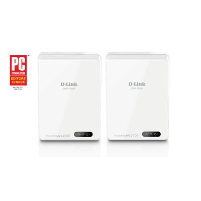 D-Link AV2 2000 HD Gigabit Starter Kit Powerline adapter - Wit