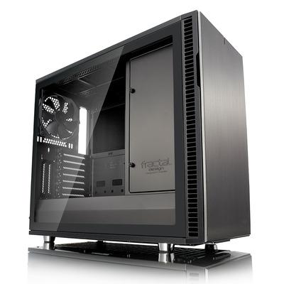 Fractal Design Define R6 USB-C–TG Behuizing - Antraciet