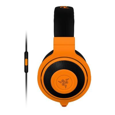 Razer headset: Kraken Mobile - Oranje