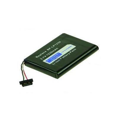 2-Power Internal Battery for Mio P550 - Zwart