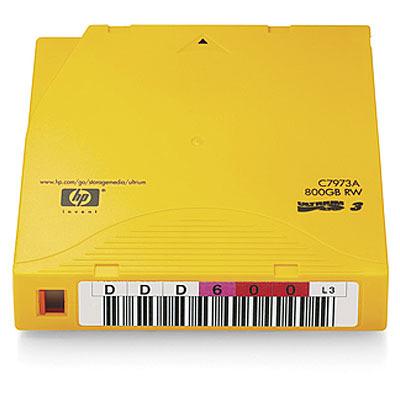 Hewlett Packard Enterprise Ultrium 800GB Datatape - Goud