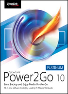Cyberlink tekstverwerker: Power2Go 10 Platinum (download versie)