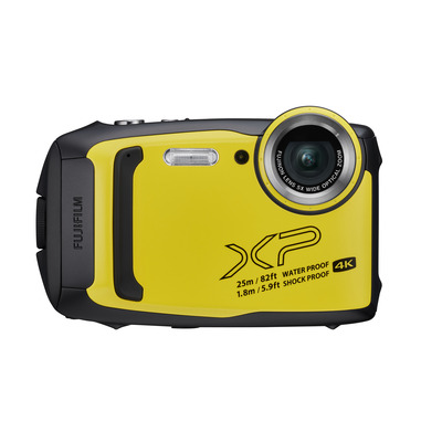 Fujifilm FinePix XP140 Digitale camera - Zwart, Geel