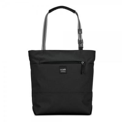 Pacsafe vrouwen-handtas: Slingsafe LX200 - Zwart