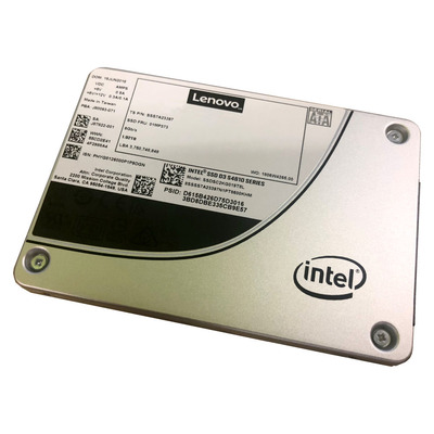 "Lenovo ThinkSystem 2.5"" Intel S4610 480GB Mainstream SATA 6Gb Hot Swap SSD"